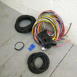 2007 And Later Jeep Wrangler 8 Circuit Wire Harness Fits Painless Fuse Block