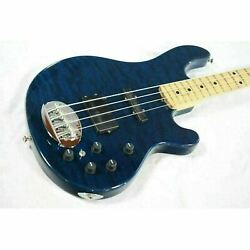 Lakland Sl4-94 Deluxe Used Ash Body Blue Translucent W/soft Case