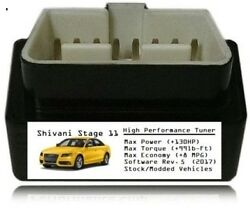 Stage 11 Performance Power Tuner Chip [ Add 130hp 8mpg ] Obd Tuning For Cadillac