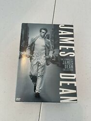 James Dean Dvd 6-disc Set The Complete Collection 3-movies