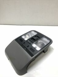 2004-2006 Acura Tl Front Overhead Console Dome Map Light Sunroof Switch Grey Oem