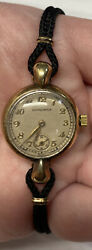 Womens Longines 8ln Mechanical Wind Up Watch Running Excellent And Great Cond