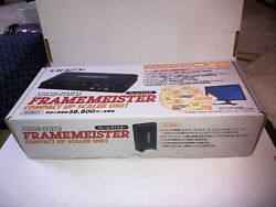 Xrgb Mini Framemeister Complete With Remote, Cables, Sd Card + Profiles