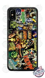 Classic Halloween Poster Karloff Phone Case For Iphone 12 Samsung Note 20 Google