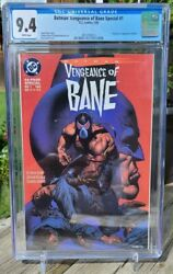 Batman Vengeance Of Bane 1 - Cgc 9.4 White Pages - 1st Appearance Of Bane