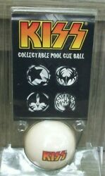 Kiss Collectable Pool Cue Ball Regulation Weight And Size Billiard Ball 2007