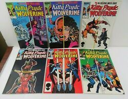 Kitty Pryde And Wolverine 1-6 Full Limited Series Comic Book Copper Age Marvel
