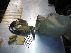Vintage Rare Ww1 Us United States Gas Mask Instructions Extras Name Date 1914