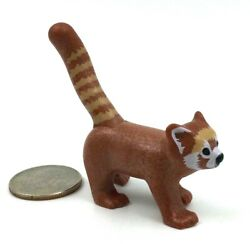 Playmobil Red Panda Adult Forest Zoo Wild Animal Endangered Species Miniature G6