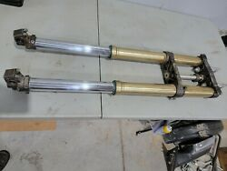 2014 Yamaha Yz250f Yz450f Forks Front Shocks With Triples And Clamps 14-17 Kyb