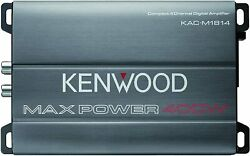 Kenwood Kac-m1814 4 Channel Compact Amplifier, Conformal Coated. New Sealed