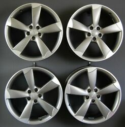 Original Alloy Wheel Set 19 Inch Audi A5 S5 8t Rotor As New