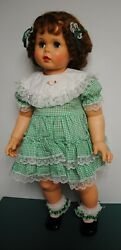 Ideal Playpal Doll Penny New Lid'l Dolly's Dress Matching Socks/bows New Shoes