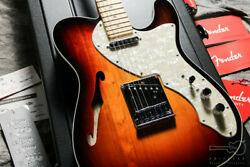 Fender American Deluxe Telecaster Thinline 2013 Electric Guitar With Hard Case