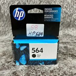 Hp 564 Black Noir Ink Cartridge Expired Please See Pictures