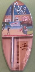 Tiki Toss Original Hook And Ring Game 100 Bamboo Deluxe Edition 👉free Shipping