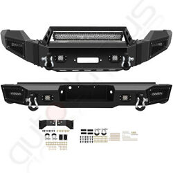 Style - Front Rear Bumper Built-in 5 Led Lights For 2011-2016 Ford F 250
