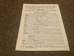 Aabk18 Antiques Advert F R Meatyard - Fine Old Drawings And Prints List 4 Pages