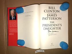 United States President Bill Clinton Signed Autographed Book James Patterson