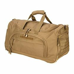 Gym Bag For Men Tactical Duffle Bag Military Travel Work Out Bags New-tan