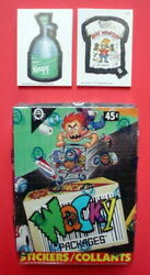 1992 O-pee-chee Opc Wacky Packages Stickers Box 36 Packs Sealed And 1 Complete Set