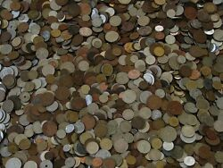 Unsearched Lot Of Nice Mix Of World Foreign Coin 1 Lb Lot And Gift Always Added1