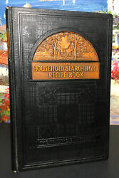 Household Searchlight Recipe Book Cookbook 1938 Tabbed Pages 11th Printing Hc