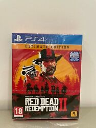 Red Dead Redemption 2 Ultimate Edition Steelbook / Ps4 Sealed Brand New