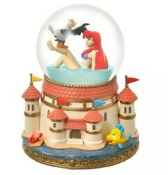 Disney Store Limited Ariel And Scuttle The Little Mermaid Snow Globe Figure