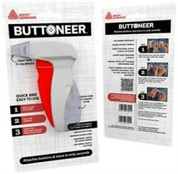 Avery The Buttoneer Fastening Tool-red/white