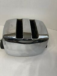 1950s Vintage Sunbeam T-20b Toaster Non Working Display Parts Or Repair No Dents