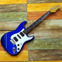 Sonic Str-376 Old Lake Placid Blue Electric Guitar W/soft Case From Japan[fedex]