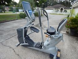 Octane Fitness Xr6000 Recumbent Stepper With Pvs Tv. Shipping Available.