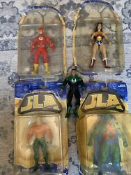 Lot Of Jla Classified Series 1 Action Figure - Based On Mcguiness Design