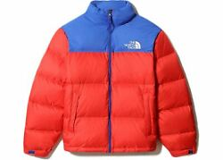 Nwt The 1996 Retro Nuptse 700-down Insulated Jacket - Red / Blue Sz L
