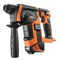 Aeg Rotary Drill Sds-plus Brushless Hammer 18v Only Body No Battery Including