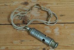Rare 1916 De Courcy Original World War One Officers Trench Whistle British Army