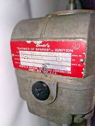 Bendix Shower Of Sparks S4ln-200 Magneto P/n 10-1630005-2 Removed Working
