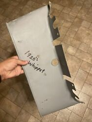 1920and039s Lower Radiator Apron For Whippet