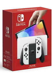Nintendo Switch Oled Model With White Joy-con Confirmed Preorder Presale