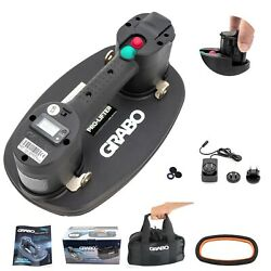 Grabo Pro Electric Vacuum Suction Cup Lifter With Electronic Display Battery Pow