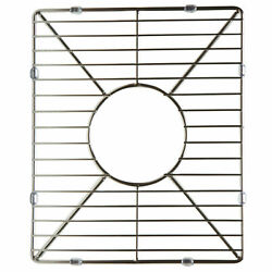 Alfi Brand Stainless Steel Kitchen Sink Grid For Small Side Of Arch Abgr3618s
