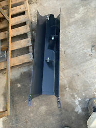 Skid Steer Auger Bucket Attachment Mixing And Discharge Seed Spreader Fence Post