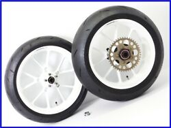 1995 Zx-9r B Marchesini M10s Aluminium Forged Wheel Front And Rear Set W/ Tire Uu