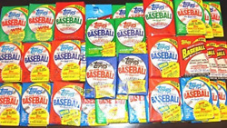 300 Old Vintage Topps Baseball Cards In Sealed Pack Lot Gift Package