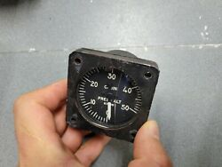 Us Aircraft Indicator Altimeter Press.compt 0-50000 Ft Type Aau-3a/a