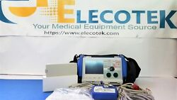 Zoll M Series Als Pacer Analyze Aed 3 Leads Spo2 Etco2 Loflo Bluecase Pads