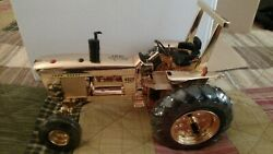 Rare Gold John Deere 4020 With Rops 1 Of 500 1/16 Scale