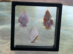 Authentic Indian Arrowheads / Lot 3.