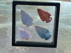 Authentic Indian Arrowheads / Lot 4.